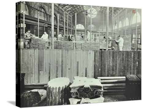 Building Class, School of Building, Brixton, London, 1911--Stretched Canvas Print