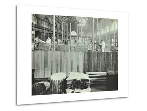 Building Class, School of Building, Brixton, London, 1911--Metal Print