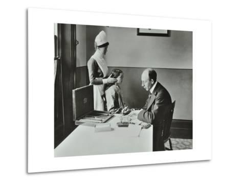 Consulting Room, Norwood School Treatment Centre, London, 1911--Metal Print
