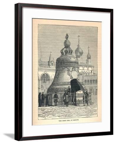 The Great Bell of Moscow, 1893--Framed Art Print