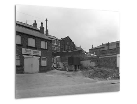 Greengrocers Warehouse Exterior, Mexborough, South Yorkshire, 1966-Michael Walters-Metal Print
