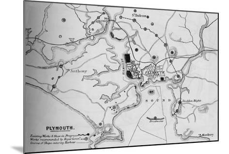 Plymouth, 1884--Mounted Giclee Print