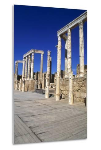Theatre, Leptis Magna, Libya, 1-2 Ad-Vivienne Sharp-Metal Print