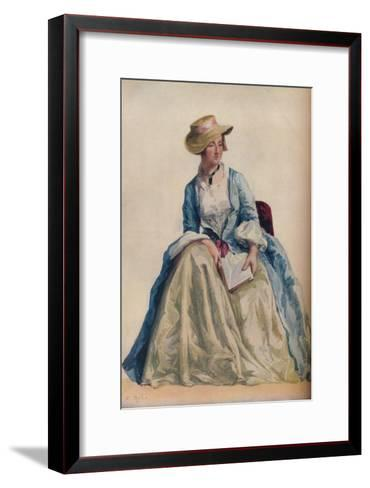 Figure Subject, 1921-Agostino Aglio-Framed Art Print