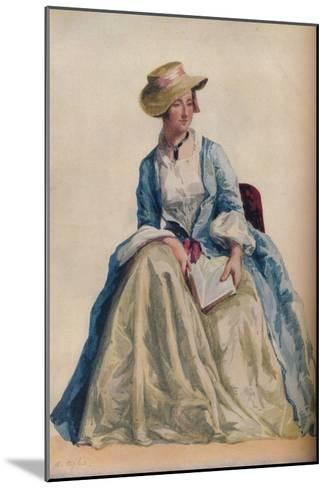 Figure Subject, 1921-Agostino Aglio-Mounted Giclee Print