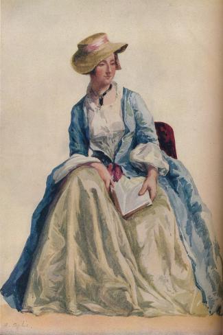 Figure Subject, 1921-Agostino Aglio-Stretched Canvas Print