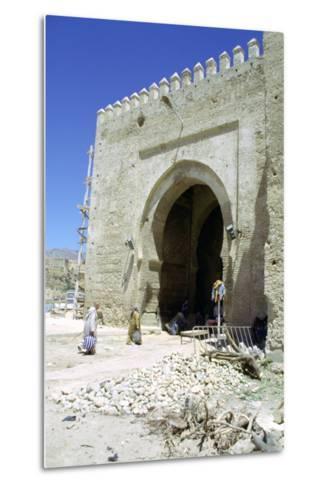 Restoration of the Bab Mahrouk Gate, Morocco-Vivienne Sharp-Metal Print