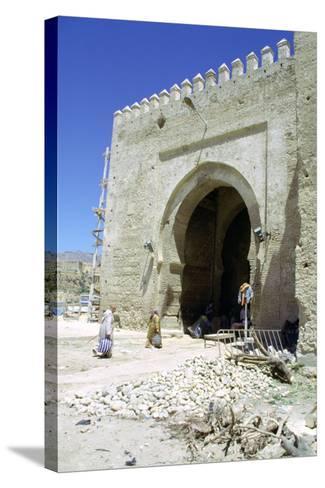Restoration of the Bab Mahrouk Gate, Morocco-Vivienne Sharp-Stretched Canvas Print
