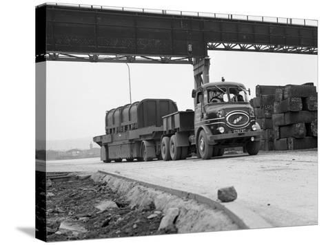 Erf 66Gsf Lorry, Park Gate Iron and Steel Co, Rotherham, South Yorkshire, 1964-Michael Walters-Stretched Canvas Print