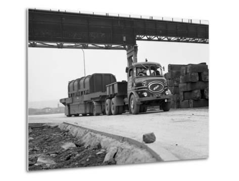 Erf 66Gsf Lorry, Park Gate Iron and Steel Co, Rotherham, South Yorkshire, 1964-Michael Walters-Metal Print