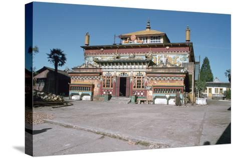 Ghum Monastery, Near Darjeeling, West Bengal, India-Vivienne Sharp-Stretched Canvas Print