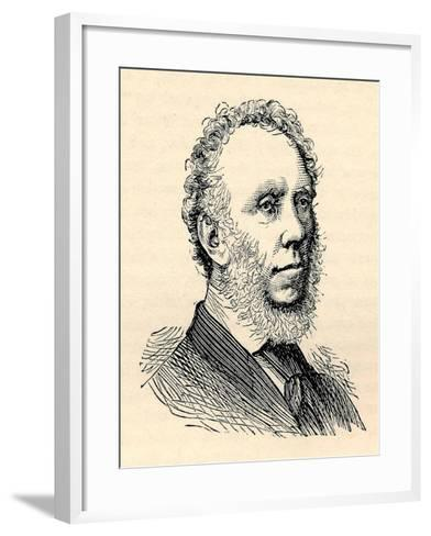 Edward Baines, (1774-1848), Printer, Paper Proprietor, Politician, 1893--Framed Art Print