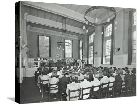 Students Attending a Conference, Furzedown Training College, London, 1935--Stretched Canvas Print
