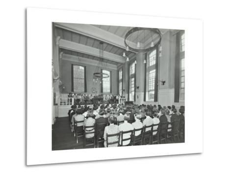 Students Attending a Conference, Furzedown Training College, London, 1935--Metal Print