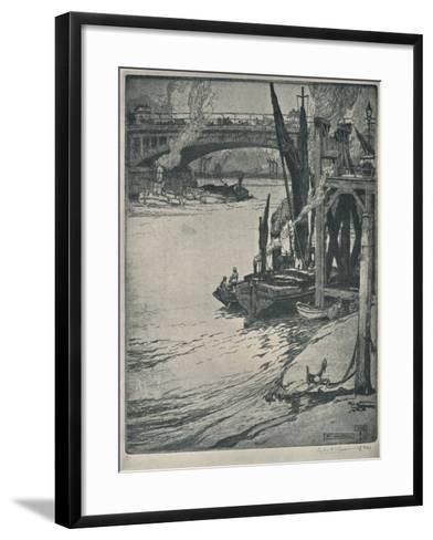 At Vauxhall, 1925-Sir Leslie Matthew Ward-Framed Art Print