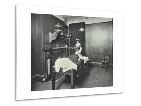 X-Ray Room, Fulham School Treatment Centre, London, 1914--Metal Print