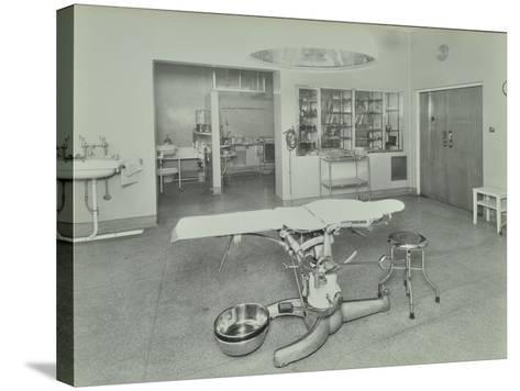 Operating Theatre, Lewisham Hospital, London, 1936--Stretched Canvas Print