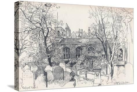 Chapel Royal, C1902-Tony Grubhofer-Stretched Canvas Print