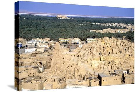 Ruined Citadel, Siwah, Egypt-Vivienne Sharp-Stretched Canvas Print