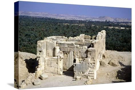 Temple of the Oracle, Siwah, Egypt-Vivienne Sharp-Stretched Canvas Print