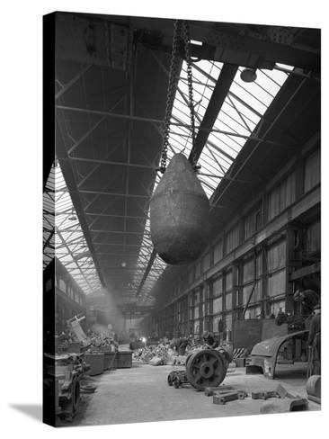 Edgar Allen Steel Foundry, Meadowhall, Sheffield, South Yorkshire, 1962-Michael Walters-Stretched Canvas Print