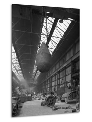 Edgar Allen Steel Foundry, Meadowhall, Sheffield, South Yorkshire, 1962-Michael Walters-Metal Print