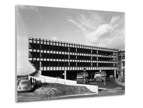 Recently Completed Doncaster North Bus Station, South Yorkshire, 1967-Michael Walters-Metal Print