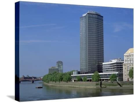 Millbank Tower, London-Peter Thompson-Stretched Canvas Print