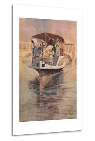 Bateau-Parisien at the Point Du Jour, 1915-Charles Jouas-Metal Print
