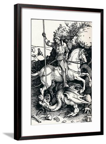 St George and the Dragon, 1505-Albrecht D?rer-Framed Art Print