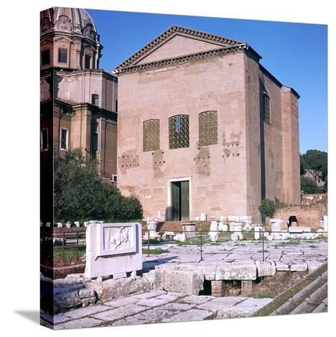 Curia of Diocletian, 1st Century Bc-CM Dixon-Stretched Canvas Print