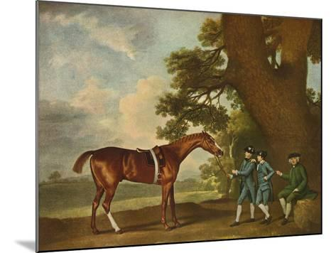 Eclipse, C18th Century, (1902)-George Stubbs-Mounted Giclee Print