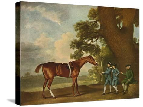 Eclipse, C18th Century, (1902)-George Stubbs-Stretched Canvas Print