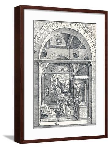 The Annuciation, 1506-Albrecht D?rer-Framed Art Print