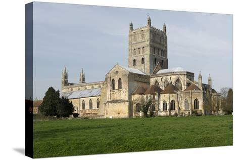 Tewkesbury Abbey, Gloucestershire, 2010-Peter Thompson-Stretched Canvas Print
