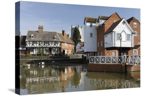 Abbey Mill, Tewkesbury, Gloucestershire, 2010-Peter Thompson-Stretched Canvas Print