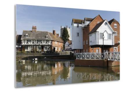 Abbey Mill, Tewkesbury, Gloucestershire, 2010-Peter Thompson-Metal Print