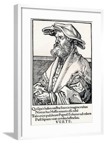 Eobanus Hesse, 1527-Albrecht D?rer-Framed Art Print