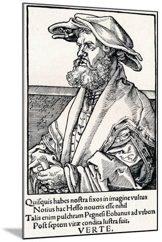 Eobanus Hesse, 1527-Albrecht D?rer-Mounted Giclee Print