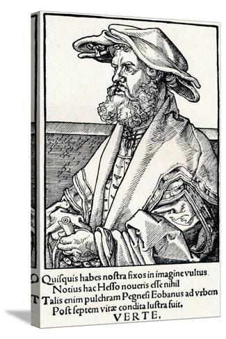 Eobanus Hesse, 1527-Albrecht D?rer-Stretched Canvas Print