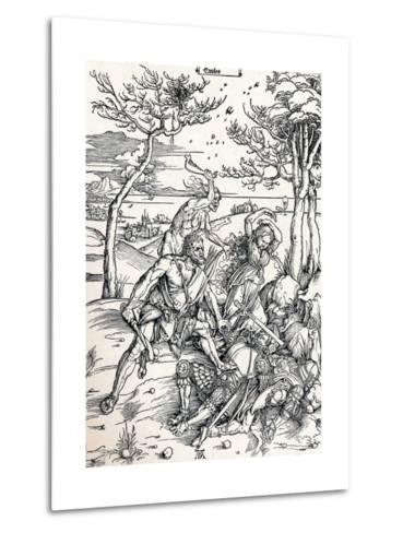 Hercules, 1497-Albrecht D?rer-Metal Print