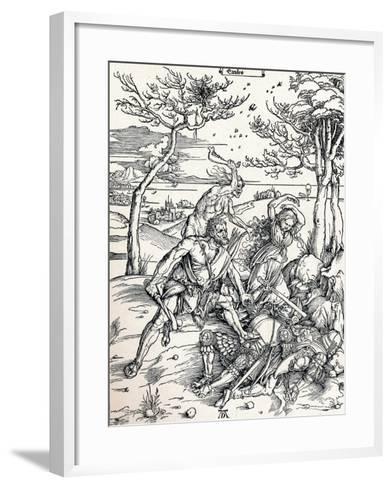 Hercules, 1497-Albrecht D?rer-Framed Art Print