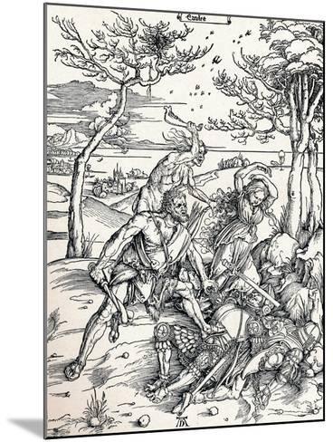 Hercules, 1497-Albrecht D?rer-Mounted Giclee Print