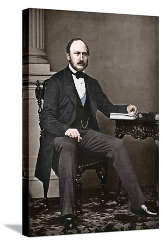 The Last Portrait of Albert, Prince Consort, 1861-Vernon Heath-Stretched Canvas Print