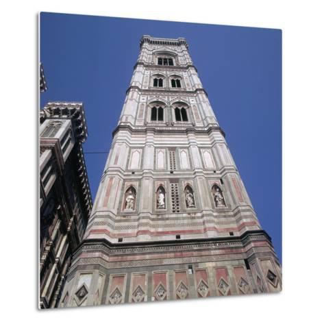 Giottos Tower in Florence Artist: Giotto-Giotto-Metal Print