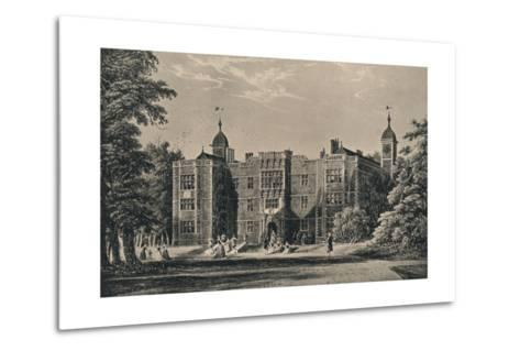 Charlton House, Kent, 1915-James Holland-Metal Print
