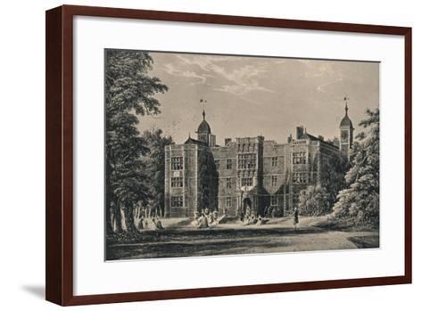 Charlton House, Kent, 1915-James Holland-Framed Art Print