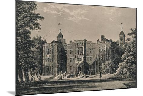 Charlton House, Kent, 1915-James Holland-Mounted Giclee Print