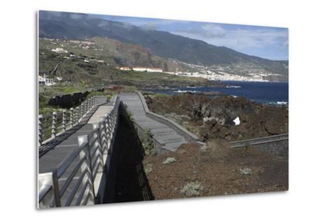 Santa Cruz De La Palma from Los Cancajos, La Palma, Canary Islands, Spain, 2009-Peter Thompson-Metal Print