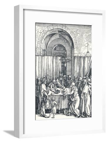 The Rejection of Joachims Offering, 1506-Albrecht D?rer-Framed Art Print
